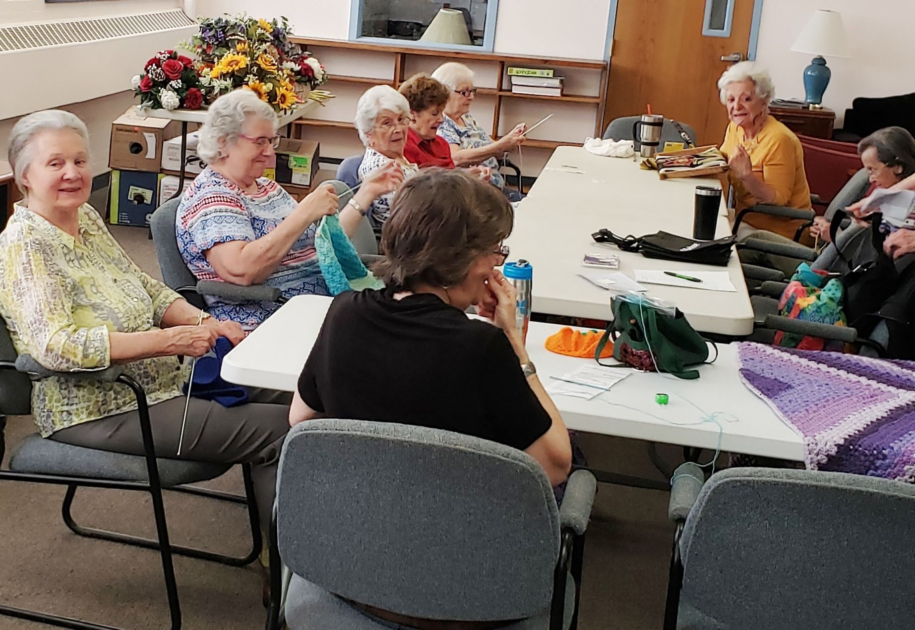 Craft Group enjoys the day!
